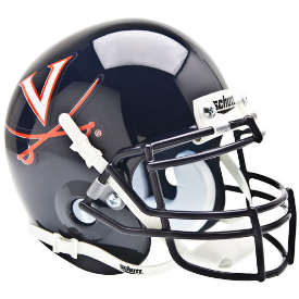 Virginia Cavaliers Schutt XP Authentic Mini Football Helmet