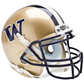Washington Huskies Schutt XP Authentic Mini Football Helmet