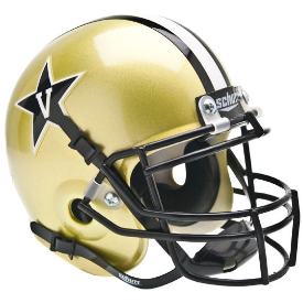 Vanderbilt Commodores Schutt XP Authentic Mini Football Helmet
