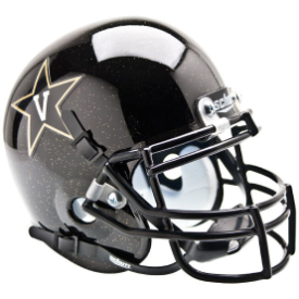 Vanderbilt Commodores Black Schutt XP Authentic Mini Football Helmet