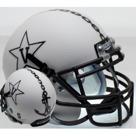 Vanderbilt Commodores Matte White w/Anchor Schutt XP Authentic Mini Football Helmet