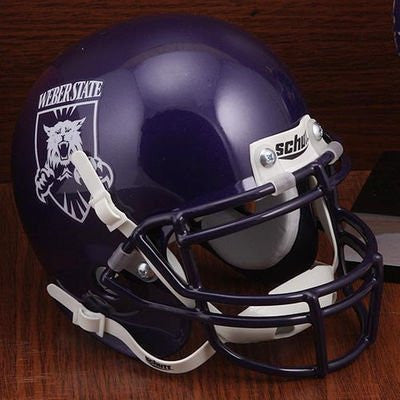 Weber State Wildcats Schutt XP Authentic Mini Football Helmet