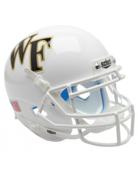 Wake Forest Demon Deacons White Schutt XP Authentic Mini Football Helmet