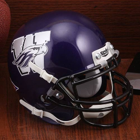 Wisconsin-Whitewater Warhawks Schutt Mini Football Helmet Desk Caddy