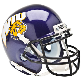 Western Illinois Leathernecks Schutt XP Authentic Mini Football Helmet