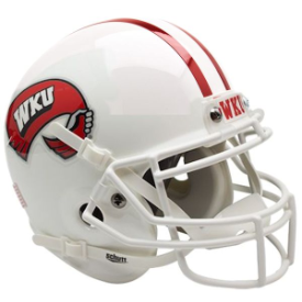 Western Kentucky Hilltoppers Schutt XP Authentic Mini Football Helmet