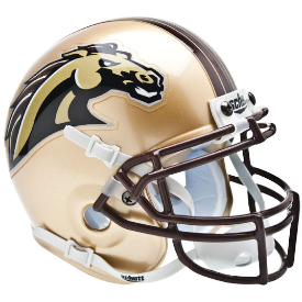 Western Michigan Broncos Schutt XP Authentic Mini Football Helmet