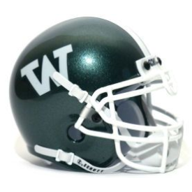 Wagner Seahawks Schutt XP Authentic Mini Football Helmet