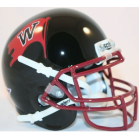 Whitworth Pirates Schutt XP Authentic Mini Football Helmet
