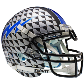Air Force Falcons Bomber Schutt XP Authentic Full Size Football Helmet