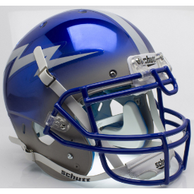Air Force Falcons Chrome Schutt XP Authentic Full Size Football Helmet