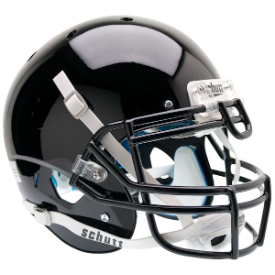 Army Black Knights Black Schutt XP Authentic Full Size Football Helmet