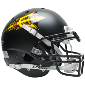 Arizona State Sun Devils Black Schutt XP Authentic Full Size Football Helmet