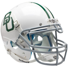 Baylor Bears White Schutt XP Authentic Full Size Football Helmet