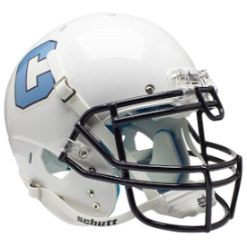 The Citadel Bulldogs Schutt XP Authentic Full Size Football Helmet