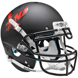 Eastern Washington Eagles Matte Black Schutt XP Authentic Full Size Football Helmet
