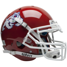 Fresno State Bulldogs Schutt XP Authentic Full Size Football Helmet