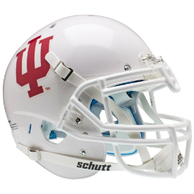 Indiana Hoosiers White Schutt XP Authentic Full Size Football Helmet