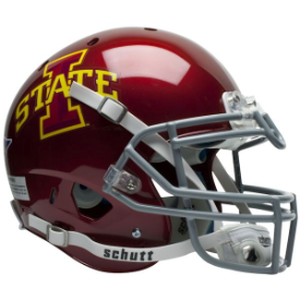Iowa State Cyclones Schutt XP Authentic Full Size Football Helmet