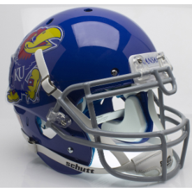 Kansas Jayhawks Schutt XP Authentic Full Size Football Helmet