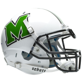 Marshall Thundering Herd Schutt XP Authentic Full Size Football Helmet