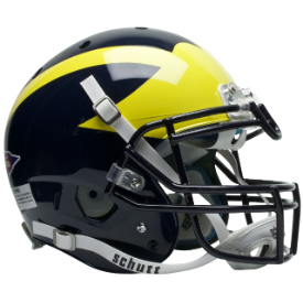 Michigan Wolverines Schutt XP Authentic Full Size Football Helmet
