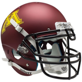 Minnesota Golden Gophers Schutt XP Authentic Full Size Football Helmet