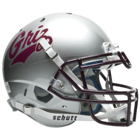 Montana Grizzlies Schutt XP Authentic Full Size Football Helmet