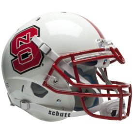 North Carolina State Wolfpack Schutt XP Authentic Full Size Football Helmet