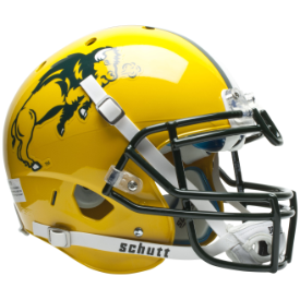 North Dakota State Bison Schutt XP Authentic Full Size Football Helmet