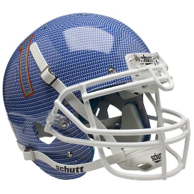 Tulsa Golden Hurricane Carbon Fiber Schutt XP Authentic Full Size Football Helmet