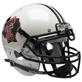 Texas Tech Red Raiders Pride Schutt XP Authentic Full Size Football Helmet