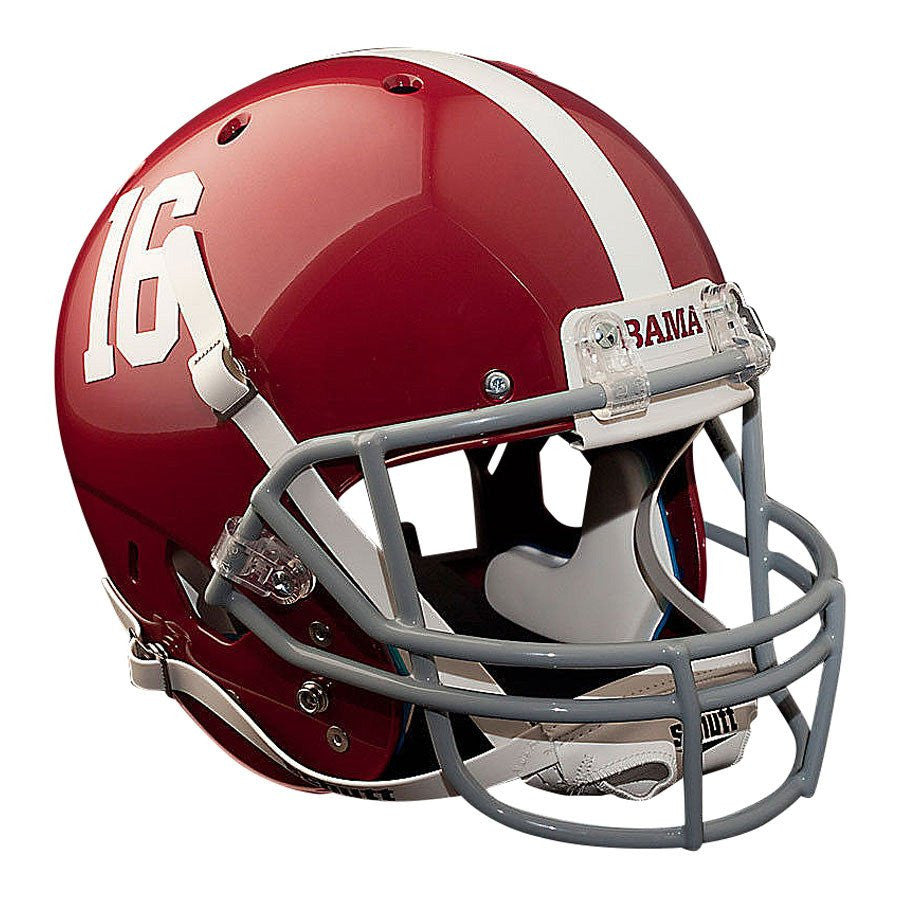 san francisco 56a75 b5b30 Alabama Crimson Tide Schutt XP Authentic Full Size Football Helmet