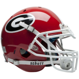 Georgia Bulldogs Schutt XP Authentic Full Size Football Helmet