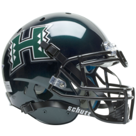 Hawaii Warriors Schutt XP Authentic Full Size Football Helmet