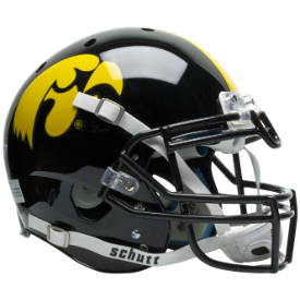 Iowa Hawkeyes Schutt XP Authentic Full Size Football Helmet