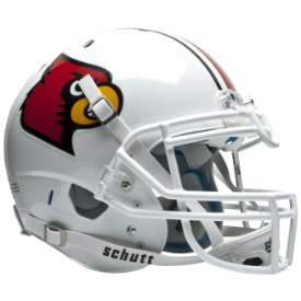 Louisville Cardinals Schutt XP Authentic Full Size Football Helmet
