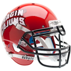 Louisiana Lafayette Ragin Cajuns Schutt XP Authentic Full Size Football Helmet