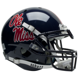 Mississippi (Ole Miss) Rebels Schutt XP Authentic Full Size Football Helmet