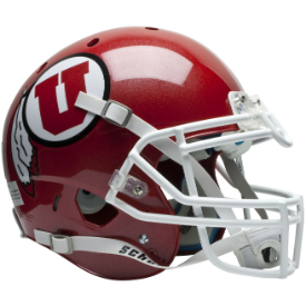 Utah Utes Schutt XP Authentic Full Size Football Helmet