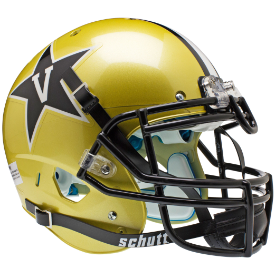 Vanderbilt Commodores Schutt XP Authentic Full Size Football Helmet