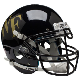 Wake Forest Demon Deacons Schutt XP Authentic Full Size Football Helmet