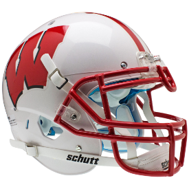 Wisconsin Badgers Schutt XP Authentic Full Size Football Helmet