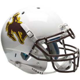 Wyoming Cowboys Schutt XP Authentic Full Size Football Helmet