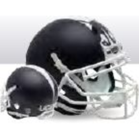 Connecticut Huskies Matte Navy Schutt XP Authentic Full size Football Helmet