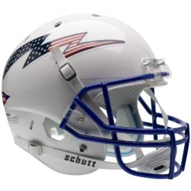 Air Force Falcons Flag Bolt Schutt XP Replica Full Size Football Helmet
