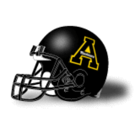Appalachian State Mountaineers Schutt XP Replica Full Size Football Helmet