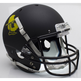 Appalachian State Mountaineers Yosef Black Schutt XP Replica Full Size Football Helmet