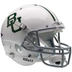 Baylor Bears White Schutt XP Replica Full Size Football Helmet