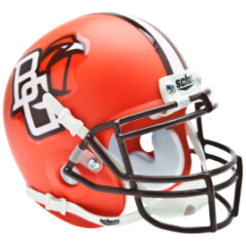 Bowling Green Falcons Schutt XP Replica Full Size Football Helmet